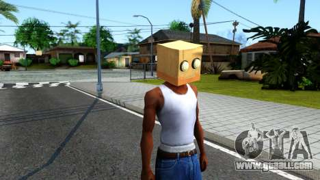 Bot Fan Mask From The Sims 3 for GTA San Andreas second screenshot