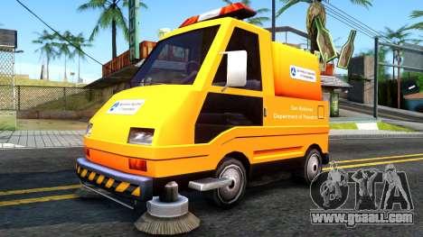 Brute Sweeper SA DOT 1992 for GTA San Andreas