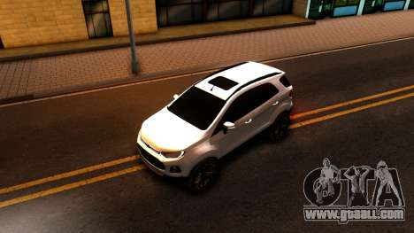 Ford EcoSport 2016 for GTA San Andreas back view