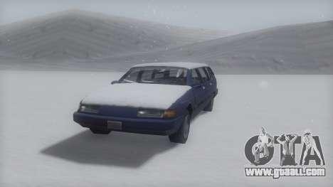 Solair Winter IVF for GTA San Andreas