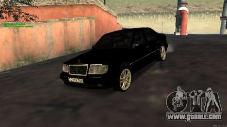 Mercedes-Benz W124 E500 Armenian for GTA San Andreas