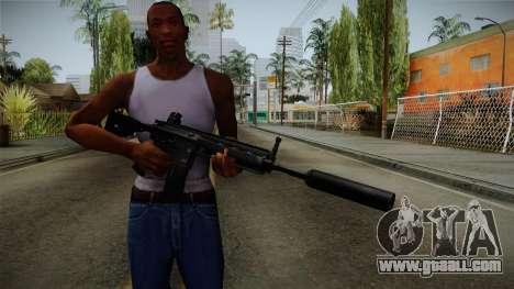HK416 v3 for GTA San Andreas