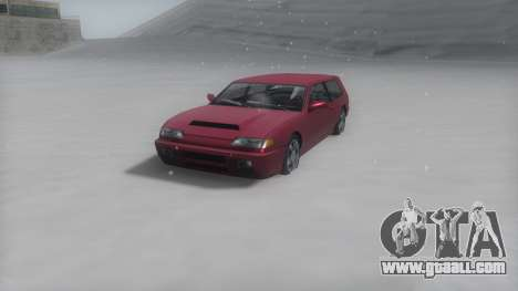 Flash Winter IVF for GTA San Andreas back left view