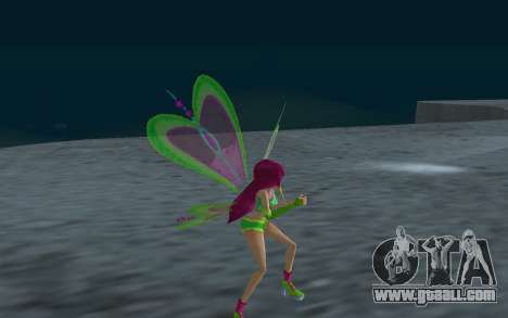 Fairy Roxy from Winx Club Rockstars for GTA San Andreas