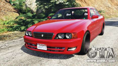 Toyota Chaser (JZX100) cambered [add-on] for GTA 5