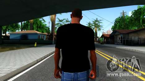Apple T-shirt for GTA San Andreas third screenshot