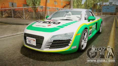 Audi R8 Coupe 4.2 FSI quattro US-Spec v1.0.0 v2 for GTA San Andreas side view