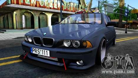 BMW e39 530d for GTA San Andreas