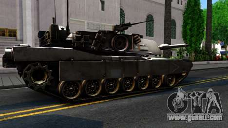 M1A1 Abrams COD4MW Remastered for GTA San Andreas inner view