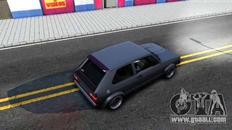 VW Golf Mk1 GTI Stance for GTA San Andreas