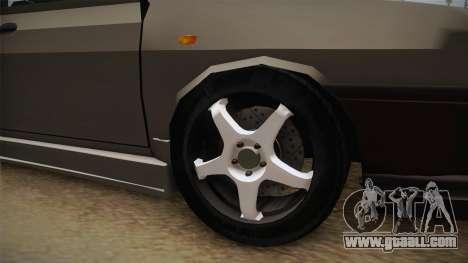 Dacia 1310 Berlina Tunata for GTA San Andreas back view