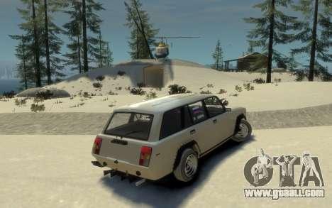 VAZ 2104 VFTS for GTA 4 left view