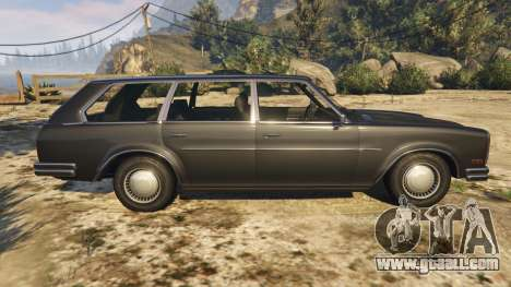 GTA 5 Glendale Station Wagon left side view