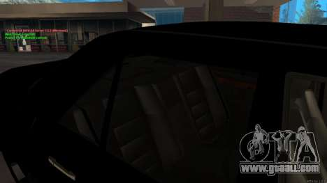 Mercedes-Benz W124 E500 Armenian for GTA San Andreas bottom view