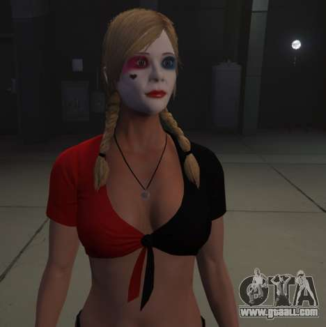 GTA 5 Harley Quinn Tracey second screenshot