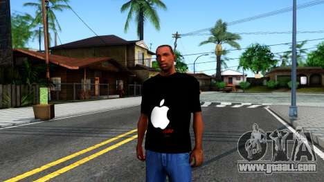 Apple T-shirt for GTA San Andreas