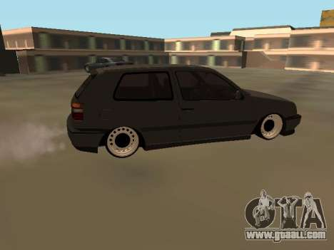 Volkswagen Golf 3 for GTA San Andreas left view