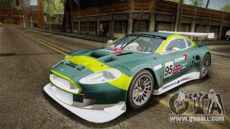 Aston Martin Racing DBR9 2005 v2.0.1 YCH for GTA San Andreas side view
