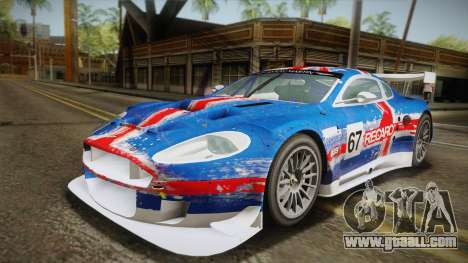 Aston Martin Racing DBR9 2005 v2.0.1 YCH for GTA San Andreas inner view
