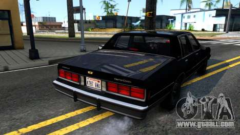 Chevrolet Caprice Brougham 1986 for GTA San Andreas left view