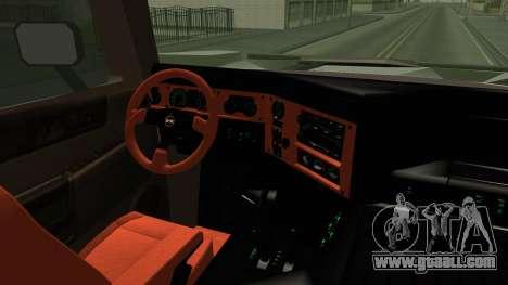 Hummer H2 6x6 Monster for GTA San Andreas inner view