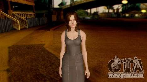 Resident Evil 6 - Helena Harper Dress for GTA San Andreas second screenshot