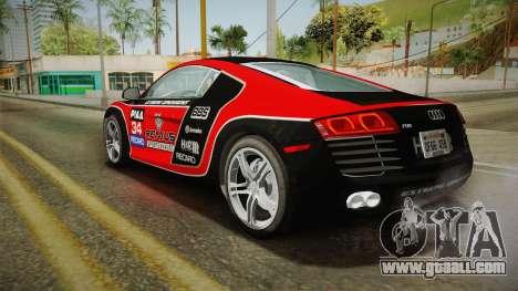 Audi R8 Coupe 4.2 FSI quattro US-Spec v1.0.0 YCH for GTA San Andreas wheels