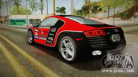 Audi R8 Coupe 4.2 FSI quattro US-Spec v1.0.0 v2 for GTA San Andreas wheels