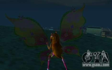 Flora Believix from Winx Club Rockstars for GTA San Andreas third screenshot