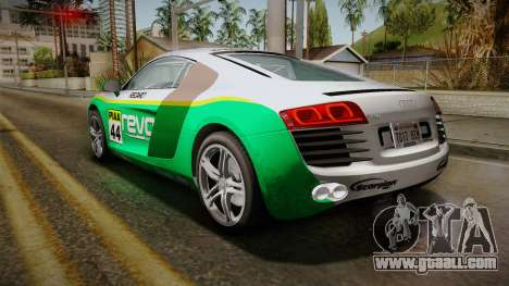 Audi R8 Coupe 4.2 FSI quattro EU-Spec 2008 for GTA San Andreas wheels