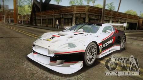 Aston Martin Racing DBR9 2005 v2.0.1 YCH for GTA San Andreas