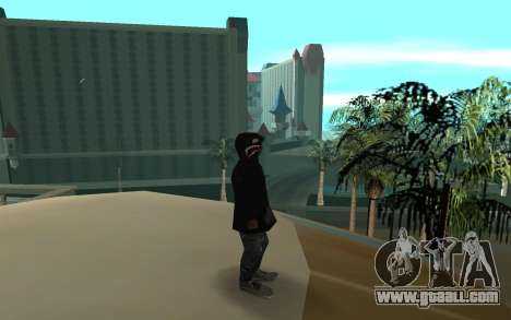 Grove Street Gang Member for GTA San Andreas second screenshot
