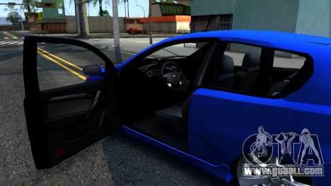 Chevrolet Aveo 2012 for GTA San Andreas inner view