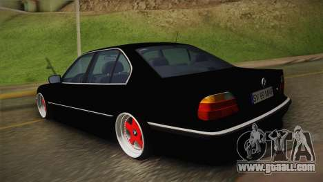 BMW 7 Series E38 Low for GTA San Andreas