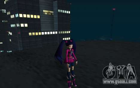 Musa Rock Outfit from Winx Club Rockstars for GTA San Andreas