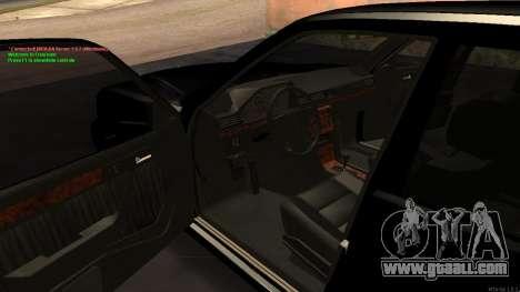 Mercedes-Benz W124 E500 Armenian for GTA San Andreas side view