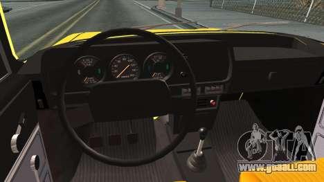 AZLK 412 for GTA San Andreas inner view