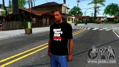 GTA Online T-Shirt for GTA San Andreas