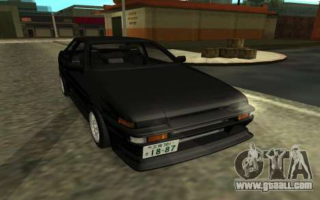 Toyota Corolla Levin (AE86) for GTA San Andreas