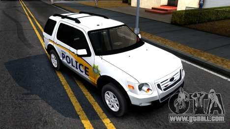 Ford Explorer Slicktop Metro Police 2010 for GTA San Andreas right view