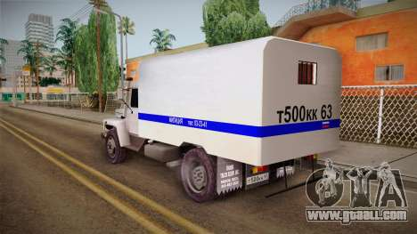 GAZ 3309 Police for GTA San Andreas