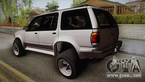Ford Explorer 1996 Drag for GTA San Andreas left view