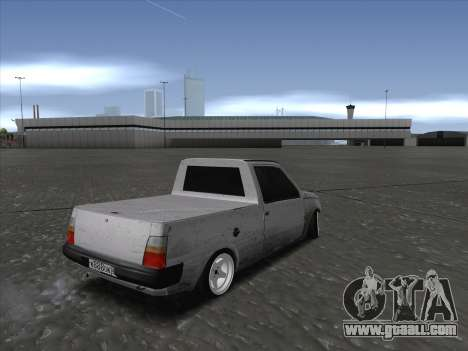 VAZ 1111 Drift for GTA San Andreas back left view