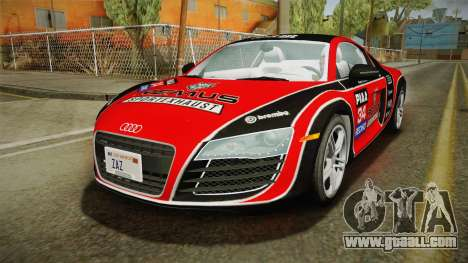 Audi R8 Coupe 4.2 FSI quattro US-Spec v1.0.0 v2 for GTA San Andreas engine