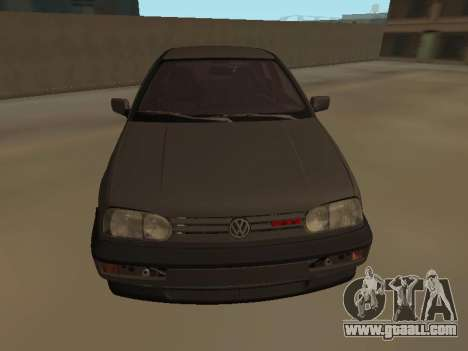 Volkswagen Golf 3 for GTA San Andreas back left view