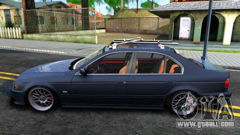 BMW e39 530d for GTA San Andreas left view