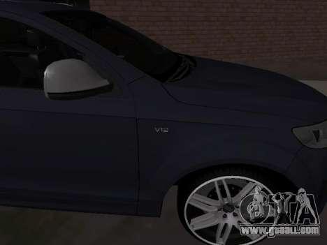 Audi Q7 Armenian for GTA San Andreas right view