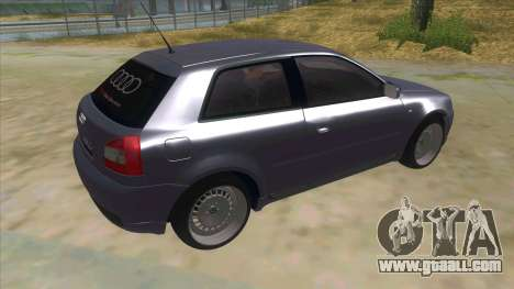 Audi S3 for GTA San Andreas right view