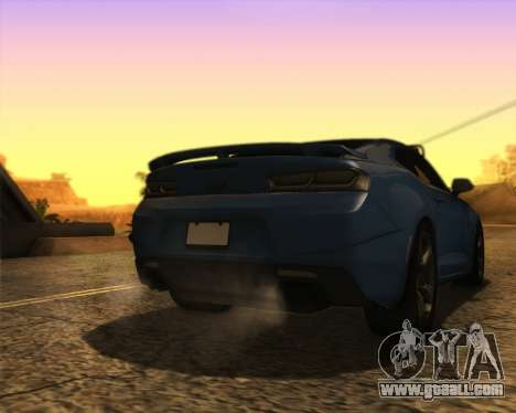 Chevrolet Camaro SS Xtreme for GTA San Andreas left view