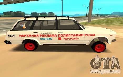 VAZ 2104 BK for GTA San Andreas